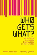 Who Gets What?: Analysing Economic Inequality in Australia