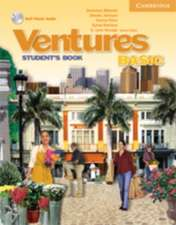 Chicago Ventures Basic Student's Book with Audio CD