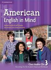 American English in Mind Level 3 Class Audio CDs (3)