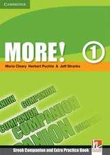 More! Level 1 Companion (Greek edition)