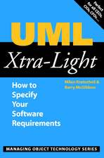 UML Xtra-Light: How to Specify your Software Requirements