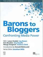 Alfred Deakin Debate v. 1; Confronting Media Power