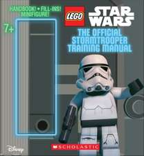 The Official Stormtrooper Training Manual. Book + Snowtrooper Minifigure