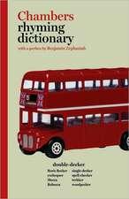 Chambers Rhyming Dictionary
