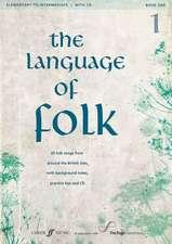 The Language of Folk, Bk 1:  Book & CD