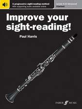 Improve Your Sight-Reading! Clarinet, Levels 6-8 (Advanced): A Progressive Sight-Reading Method, Book & Online Audio