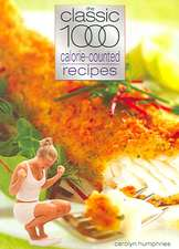 Clasic 1000 Calorie-Counted Recipes:  A Complete Aspectarian