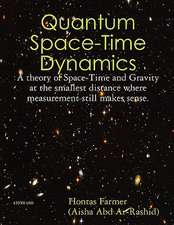 Quantum Space-Time Dynamics