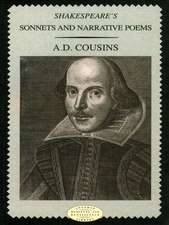 Shakespeare's Sonnets & Narrative Poems:  A Critical Guide to British Poetry 1960-1995