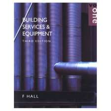 Building Services and Equipment Vol 1