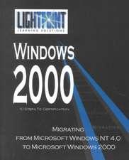 Migrating from Microsoft Windows NT 4.0 to Microsoft Windows 2000