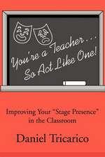 You're a Teacher