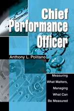Chief Performance Officer