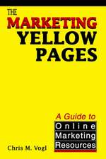 The Marketing Yellow Pages