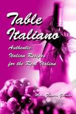 Table Italiano