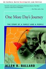 One More Day's Journey