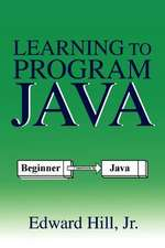Learning to Program Java