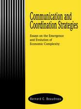 Communication and Coordination Strategies