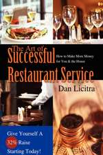 The Art of Successful Restaurant Service