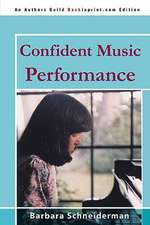 Confident Music Performance