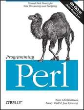 Programming Perl 4e