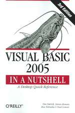Visual Basic 2005 in a Nutshell 3e