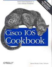 Cisco IOS Cookbook