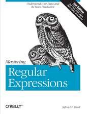 Mastering Regular Expressions 3e