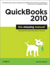 QuickBooks 2010:  The Missing Manual