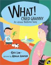 What! Cried Granny:  Almost Bedtime Story