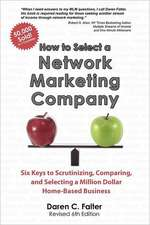 How to Select a Network Marketing Company