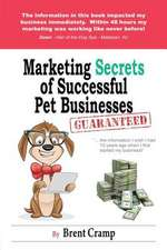 Marketing Secrets of Successful Pet Businesses