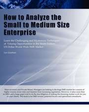 How to Analyze the Small to Medium Size Enterprise