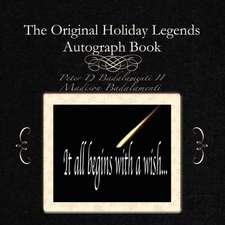 The Original Holiday Legends Autograph Book