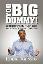 You Big Dummy - An Athlete's Simple Guide to a Successful Career