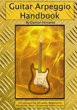 Guitar Arpeggio Handbook, 2nd Edition
