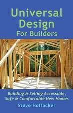 Universal Design for Builders