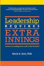 Leadership Requires Extra Innings
