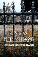Ice Storms in the Setting Sun:  Collected Poems 1987-2013