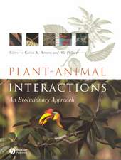 Plant Animal Interactions: An Evolutionary Approach