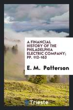 A Financial History of the Philadelphia Electric Company; Pp. 112-163