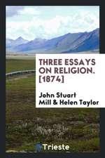 Three essays on religion