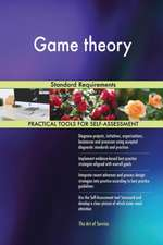 Game theory Standard Requirements