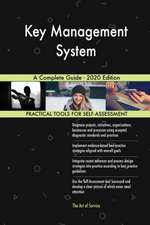 Key Management System A Complete Guide - 2020 Edition