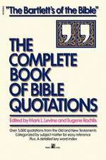 Complete Book of Bible Quotations