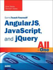 Angularjs, JavaScript, and Jquery All in One, Sams Teach Yourself:  Covers OS X, Linux, and Solaris
