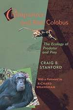 Chimpanzee & Red Colobus – The Ecology of Predator Predator and Prey