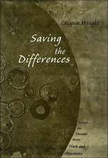 Saving the Differences – Essays on Themes from Truth & Objectivity