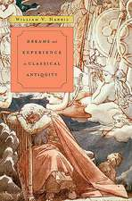 Dreams and Experience in Classical Antiquity