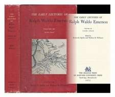 The Early Lectures of Ralph Waldo Emerson – 1838– 1842 V 3